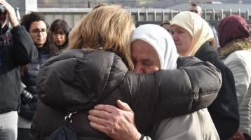 We met with the mothers of Srebrinca.