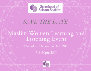 Muslim Women Learning and Listening Event